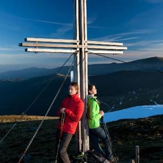 Gipfelkreuz des Koralpen-Speik