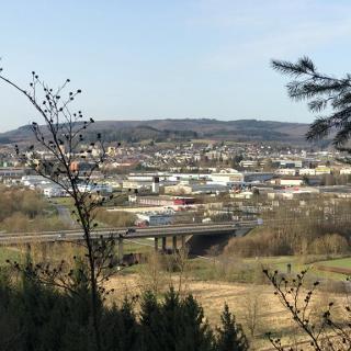 Altricher Aussichtspunkt mit Blick auf Wittlich