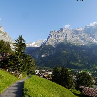 Grindelwald mit dem Eigermassiv