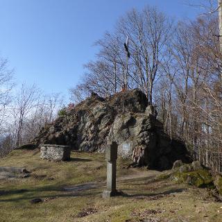 Gipfelkreuz am Haidstein