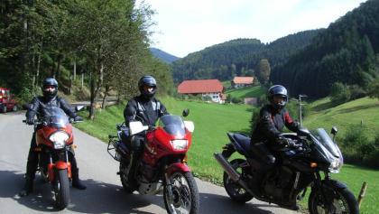 Mit dem Motorrad durch den Schwarzwald