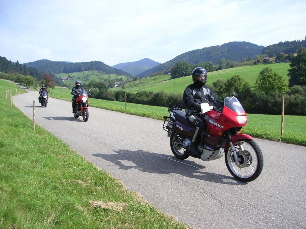Motorrad fahren im Schwarzwald