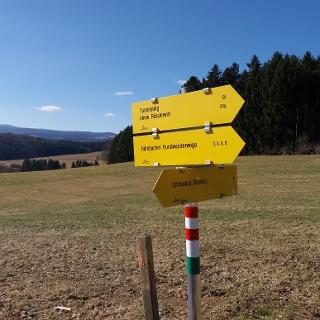 Wegweiser Moosweg