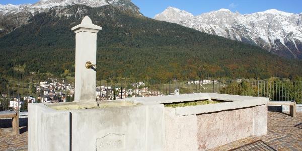 Andalo - panorama dalla chiesa