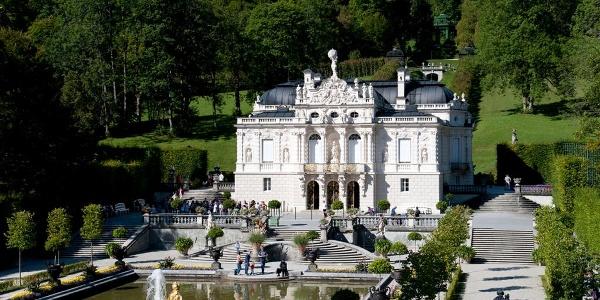 Schloss Linderhof Schloss Outdooractive Com