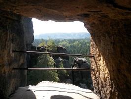 Foto Blick aus dem Schneiderloch