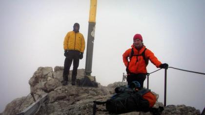 Zugspitzgipfel (2.962 m) (08.08.2012)