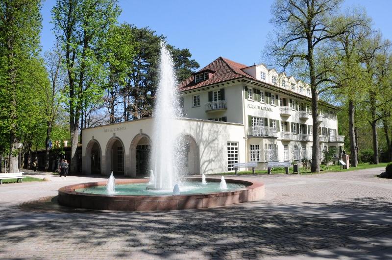 Haus des Kurgastes im Bad Mergentheimer Kurpark