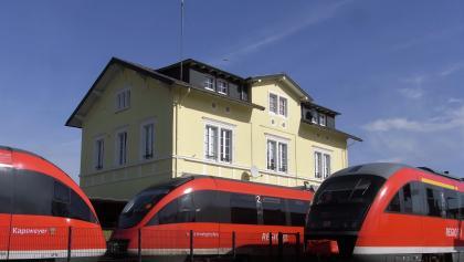 An- und Abreise mit der DB am Bahnhof Kandel im 30-Minuten-Takt, bei kleineren Bahnhöfen im Stundentakt - total problemlos