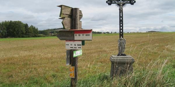 Wegkreuz bei Kibitzhäuser