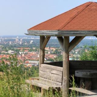 Aussicht vom Hannesenpavillon