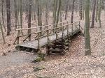 Foto Brücke zwischen dem Diebgrund und dem Mordgrund