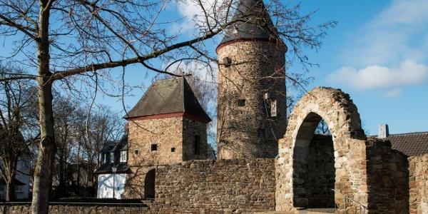 Rheinbach - Burg und Hexenturm