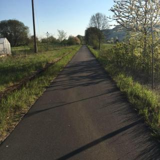 Radweg Zella-Glattbach
