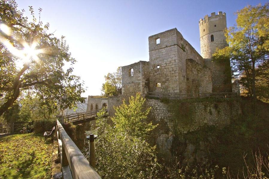 [r]auszeit Familien-Erlebnis: kindergeeignete Wanderung zur Burg Randeck