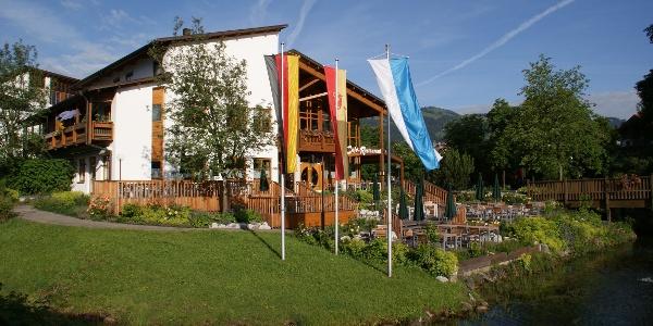 Kurhaus Fiskina, Fischen im Allgäu
