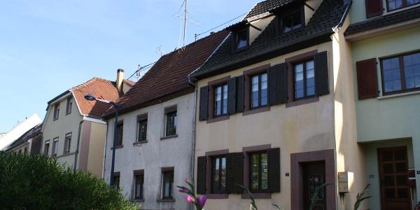 Meublé de Mme Gambs, Niederbronn-les-Bains, Alsace, vue extérieure