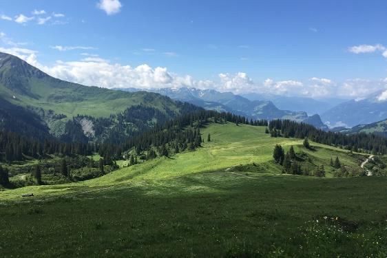 Etappe 2: Schesaplanahütte–Carschinahütte, 72 Prättigauer Höhenweg