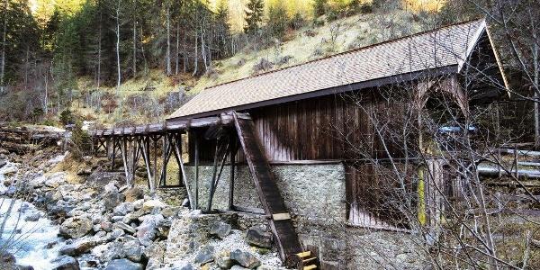 Brücke über die Plessur