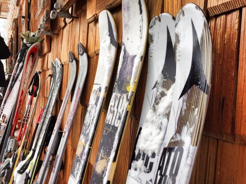 Skifahren vor der Haustüre