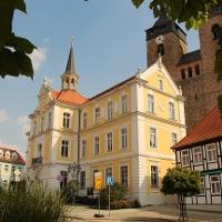 Historisches Rathaus der Stadt Burg