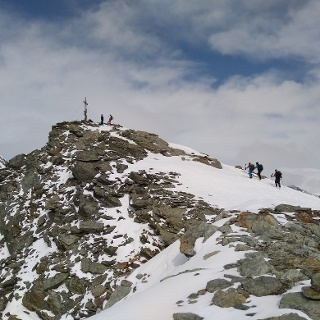 Die Madritschspitze (3.265 m)