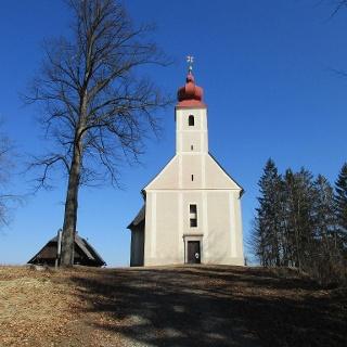 Kirche St. Anton in Bachholz (720 m)