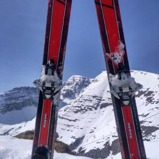 Blick von Rote Wand (1.872m) auf den Warscheneck (2.388m)