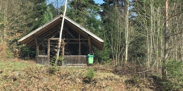 Hütte beim Tennisplatz