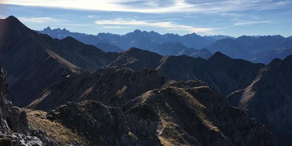 Ausblick Gipfel Entschenkopf