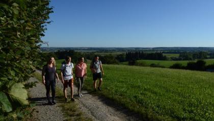 Wandern mit Freunden