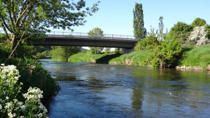 Brücke Oldisleben - Heldrungen
