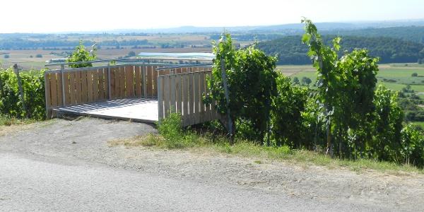 Aussicht vom Hohenhaslacher Kirchberg