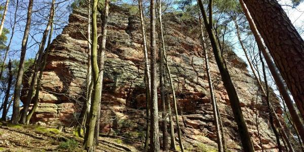 Geierstein - der östliche Kletterfelsen