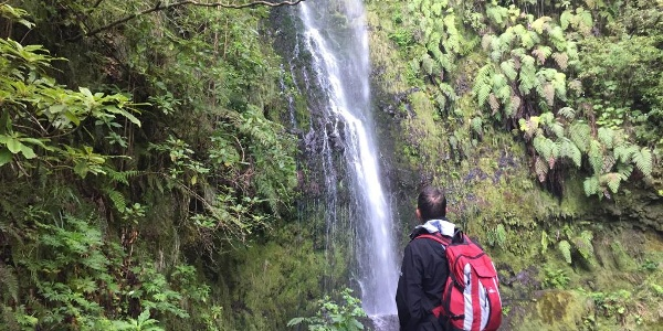 Today's walk includes waterfalls, canyons and tunnels