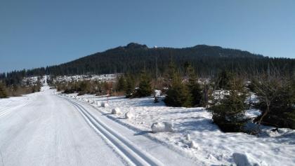 Noch etwas viel Schnee Ende März