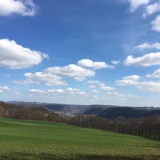Blick vom Michelberg in die 5-Tälerstadt