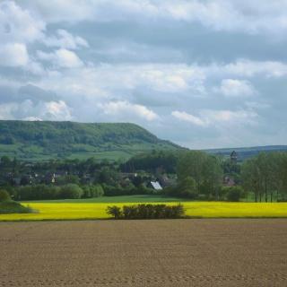 Blick zum Holzberg