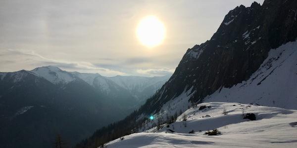 Morgensonne im Schmalzgrubenkar