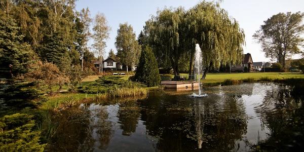 Blick in den Kurpark  Bad Klosterlausnitz