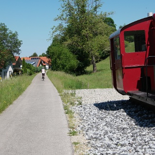 Bahntrassen-Radeln am
