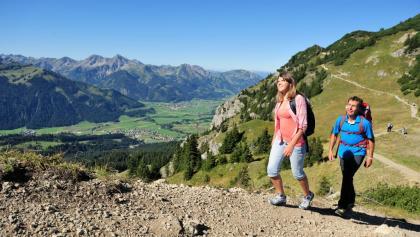 Bergwandern im Tannheimer Tal