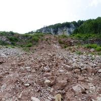 A trail of destruction