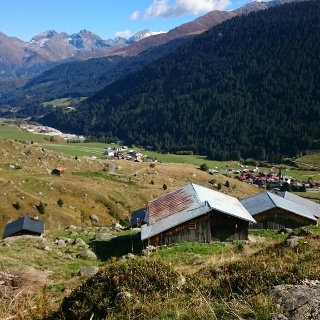 Alp Malamusa bei Rueras