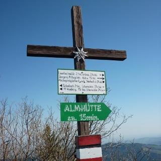 Gipfelkreuz Hochsalm