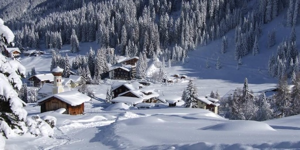 Skifahren bis vor die Haustüre