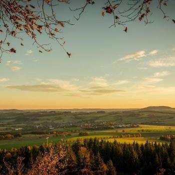 Landschaft Erzgebirge