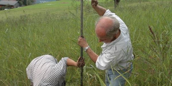 Ausmessungen Tschuga Moor