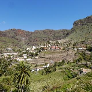Am Fuße des Valle Gran Rey