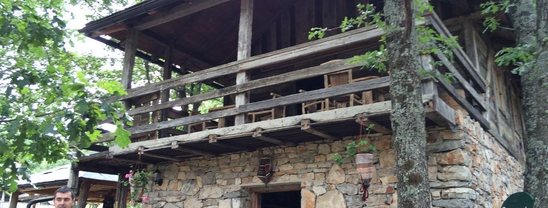Restaurant building Dodik Etno selo